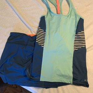 Skirt and tank set